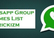 WhatsApp Groups Names