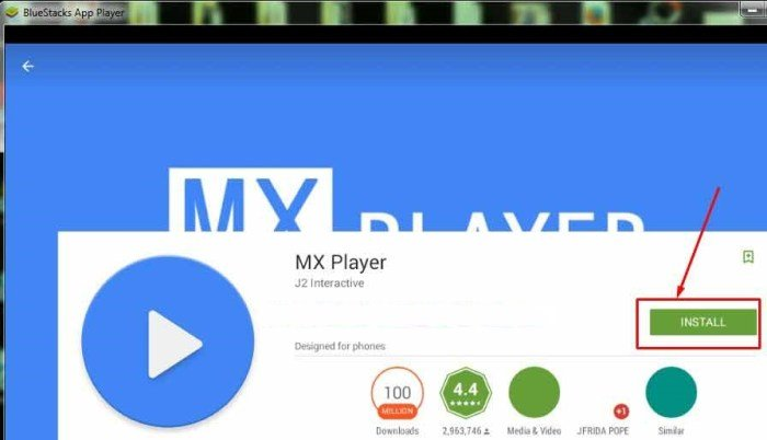 MX Player for Windows PC