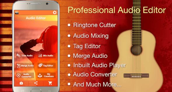 Audio MP3 Cutter and Ringtone Maker