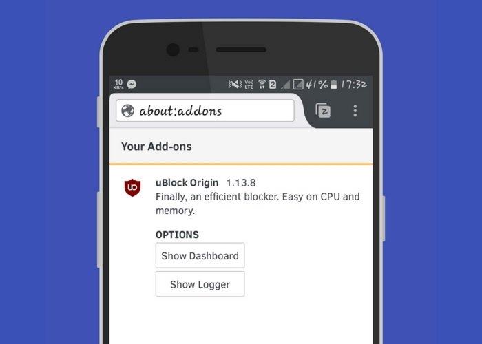 uBlock Origin For Android Phone