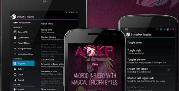 AOKP Best Custom Rom for Android