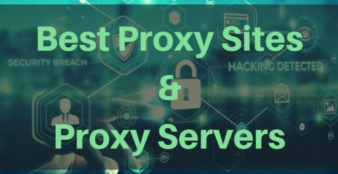 Best Proxy Sites List