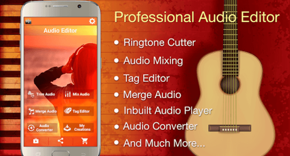 Audio MP3 Cutter and Ringtone Maker