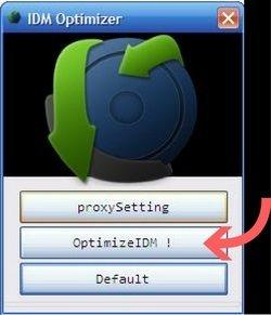IDM Optimizer Setting