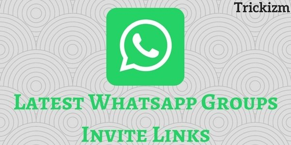 Whatsapp Groups Invite Links