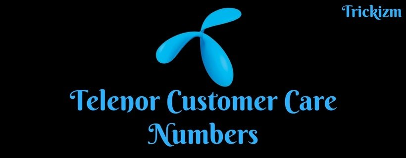 Telenor Customer Care Numbers