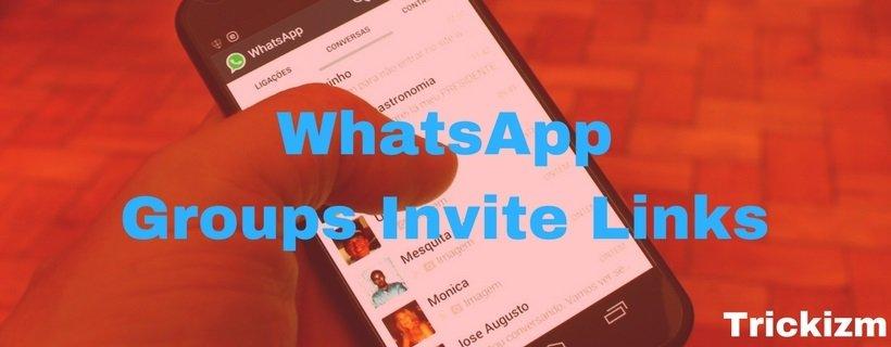 Whatsapp Groups Invite Links: 500+ Whatsapp Group Links